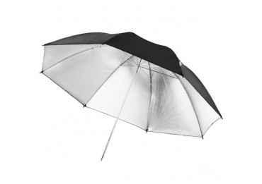 location Parapluie noir / argent, 84cm - Walimex Reflex