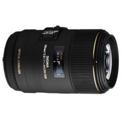 Sigma 105 mm 2,8 EX DG OS HSM MACRO- Objectif photo monture Canon