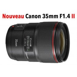 Canon EF 35 mm f/1.4 L USM II - Objectif photo monture Canon