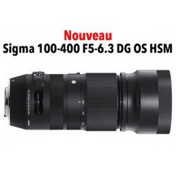 Sigma 100-400 mm f/5-6.3 DG OS HSM Contemporary - Canon