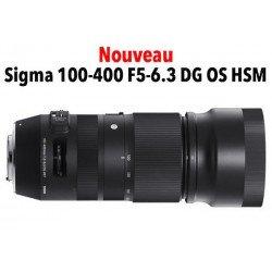 Sigma 100-400 mm f/5-6.3 DG OS HSM Contemporary - Monture Canon