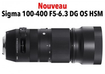 location objectif Sigma 100–400mm f/5–6.3 DG OS HSM Contemporary - Canon