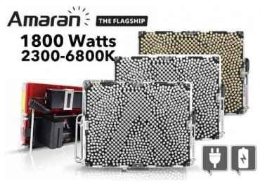 Pack 3x Eclairages Led 600 watts- Aputure Tri 8 (ssc) - V-Mount Panneaux Led