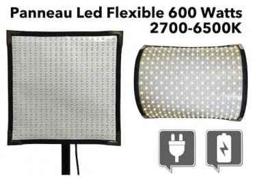 Panneau Led flexible 600 watts - 2700~6500K Eclairage Continu