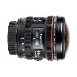 Canon 8-15 mm f/4 L Fisheye USM - Objectif Photo
