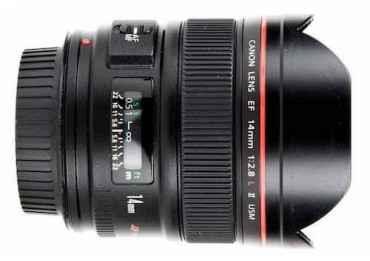 Canon 14 mm f/2,8 L II USM - Objectif Photo Grand Angle