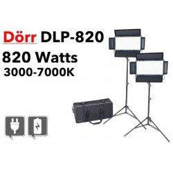DORR kit d'éclairage continu LED DLP-820 - Bi-couleur Panneaux Led