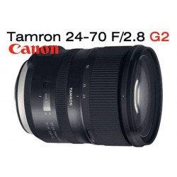 Tamron 24-70 mm f/2.8 SP Di VC USD G2 - Monture Canon Standard