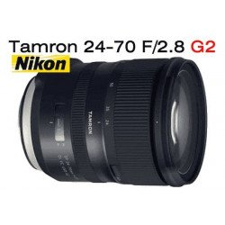 Tamron 24-70 mm f/2.8 SP Di VC USD G2 - Objectif photo monture Nikon Standard