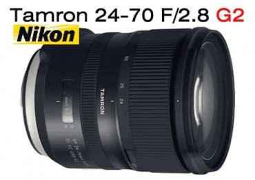 Tamron 24-70 mm f/2.8 SP Di VC USD G2 - Monture Nikon Standard
