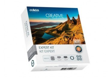 Kit filtre Cokin ND Créatif - 67 à 82mm - H3H3-21 Expert Kit + porte-filtre Filtre Neutre ND