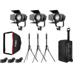 Fiilex P360 Pro - Kit 3x Projecteurs Led 400 Watts