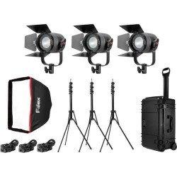 Fiilex P360 Pro - Kit 3x Projecteurs Led 400 Watts