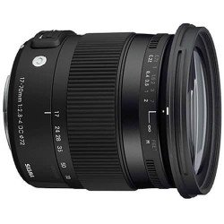Sigma 17-70 mm f2.8-4 DC MACRO OS HSM Contemporary - Monture Canon Standard