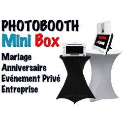 Mini Box - Photobooth pour l'animation de vos évènements (Mariage, Anniversaire, Entreprise, Salon, etc) Photo Box