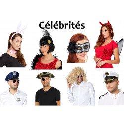 Kit Célébrités (Déguisement pour Photobooth) Kit Deluxe