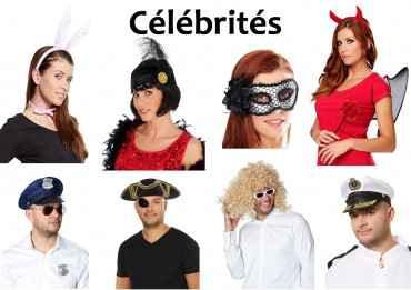 Kit Célébrités (Déguisement pour Photobooth)
