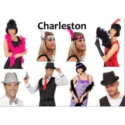 Kit Charleston (Déguisement pour Photobooth) VENTE