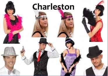 Kit Charleston (Déguisement pour Photobooth) Kit Deluxe