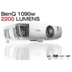Vidéoprojecteur BenQ W1090 1080p - Spécial Sports & Cinéma - 2000 Lumens