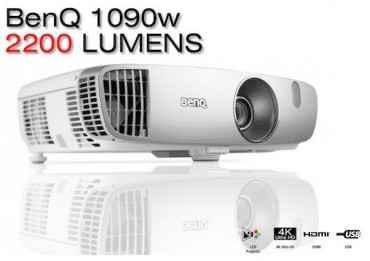 Vidéoprojecteur BenQ W1090+W - 2000 Lumens Vidéoprojecteur