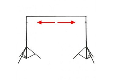 location Support de fond studio walimex pro - 120-307cm