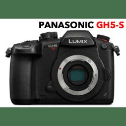Panasonic Lumix GH5 S + (2x Batteries / 1x Chargeur / 1x SD 64Go) Reflex Panasonic