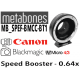METABONES bague d'adaptation monture Canon EF pour monture BMCC micro 43 T - Speed Booster