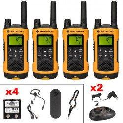 Talkie walkie Motorola TLKR T80 Extreme Quadpack Intercom