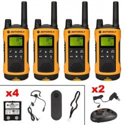 Talkie walkie Motorola TLKR T80 Extreme Quadpack Sono & DJ