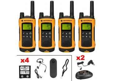 Talkie walkie Motorola TLKR T80 Extreme Quadpack