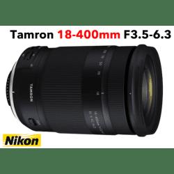 TAMRON 18-400 mm F/3,5-6,3 Di II VC HLD - Nikon Téléobjectif