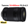 TAMRON 18-400 mm F/3,5-6,3 Di II VC HLD monture NIKON objectif photo