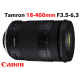 TAMRON 18-400 mm F/3,5-6,3 Di II VC HLD monture CANON objectif photo