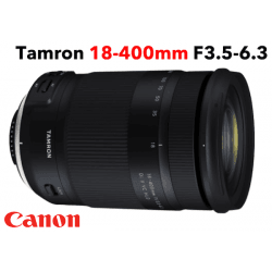 Tamron 18-400 mm F/3,5-6,3 Di II VC HLD monture CANON objectif photo Téléobjectif