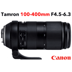 TAMRON 100-400 mm F/4,5-6,3 Di VC USD monture CANON objectif photo