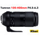 TAMRON 100-400 mm F/4,5-6,3 Di VC USD monture Nikon objectif photo
