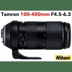 TAMRON 100-400 mm F/4,5-6,3 Di VC USD Nikon Téléobjectif