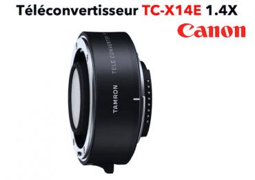 TAMRON Téléconvertisseur TC-X14E 1.4X Canon Bague et Doubleur