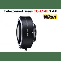 TAMRON Téléconvertisseur TC-X14E 1.4X Nikon Bague et Doubleur