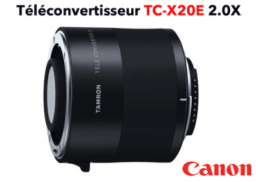 TAMRON Teleconvertisseur TC-X20E 2.0X monture Canon