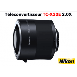 TAMRON Teleconvertisseur TC-X20E 2.0X monture Nikon Multiplicateur