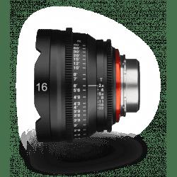Samyang XEEN 16 mm T2.6 - Monture Canon EF objectif Vidéo Samyang-Canon