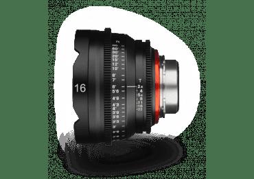 Location Samyang XEEN 16 mm T2.6 - Monture Canon EF objectif Vidéo