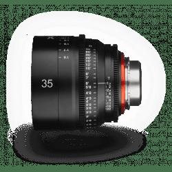 Samyang XEEN 35 mm T1.5 - Monture CANON EF objectif vidéo