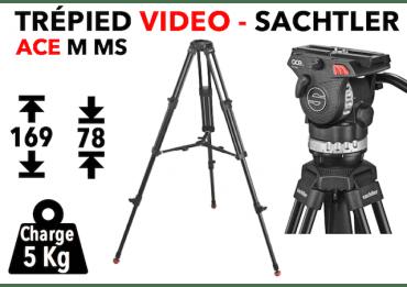 Trépied Vidéo Sachtler System ACE M MS Trépied vidéo