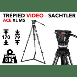Trépied vidéo SACHTLER System ACE XL GS CF Trépied vidéo