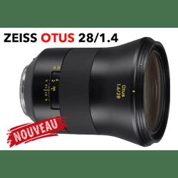 ZEISS Otus 28 mm F1.4 - Monture Canon EF Objectif Vidéo