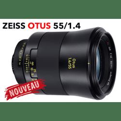 Objectif ZEISS Otus 55 mm F1.5 - Monture Canon EF DEVIS
