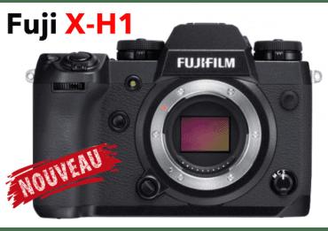 Fujifilm X-H1 compact hybride + 1 batterie & chargeur Hybride Fujifilm
